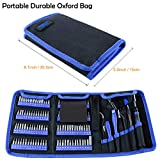 WHDZ 126pcs Precision Screwdriver Set with Magnetic Driver Kit Professional Electronics Repair Tool Kit Combination Home Repair Tool for Repair Phone, iPhone, iPad, Watch, Game Console, PC, Tablet