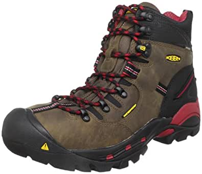 KEEN Utility Men's Pittsburgh Steel Toe Work Boot,Bison,7 D  US