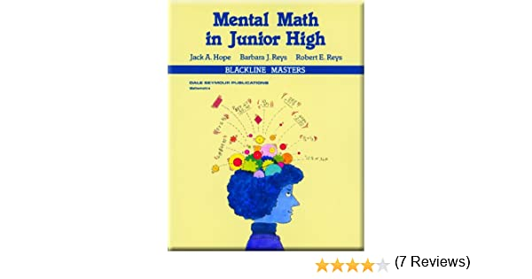 Amazon.com: Mental Math in Junior High / Grades 7-9 (9780866514330 ...