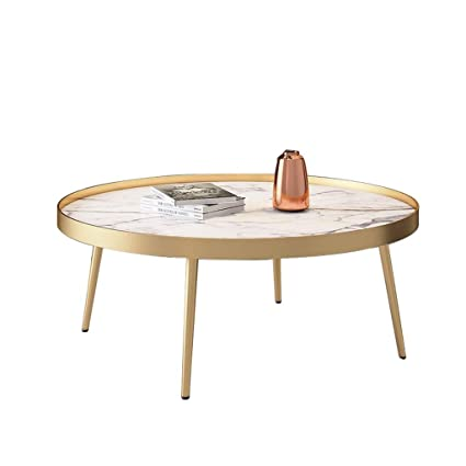 Round Coffee Table Low 4