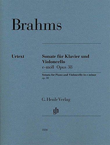 Brahms: Cello Sonata in E Minor, Op. 38 - English Cello Sonatas