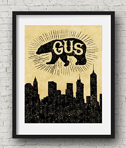 Tragically Hip Inspired Poster Print | 11x14 | Gus The Polar Bear From Central Park