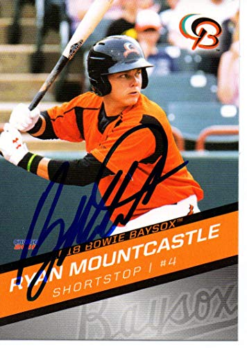 Ryan Mountcastle 2018 Bowie Baysox Update Autographed Signed Card
