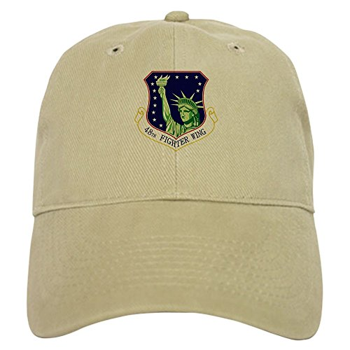 48th Fighter - CafePress - 48th Fighter Wing Cap - Baseball Cap with Adjustable Closure, Unique Printed Baseball Hat