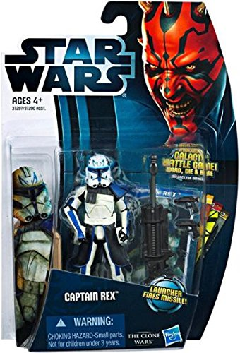 Wars Figures Wars Star Clone (Star Wars Clone Wars Captain Rex 2012 Action Figure)