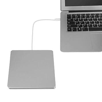 Vbestlife VBESTLIFEGrabadora CD DVD Externa Lector CD/DVD Unidad Externa Ultra Slim Portátil Transferencia Sin Pérdida de Datos Soporte Puerto Tipo C 2.0: ...