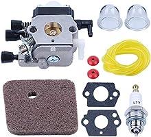 Haishine Carburador Carb Válvula de retención Filtro de Aire ...