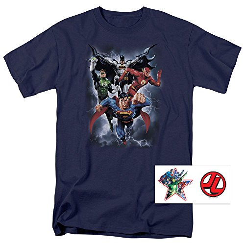 justice-league-superman-batman-flash-green-lantern-t-shirt-stickers-xx-large