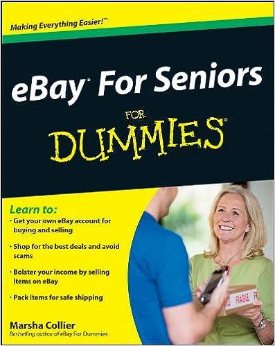 Amazon com: eBay For Seniors For Dummies eBook: Marsha