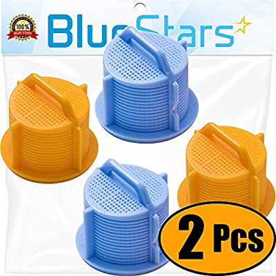 Ultra Durable AGM73269501 Washer Water Inlet Valve Filter Screen Replacement part by Blue Stars - Exact Fit for LG & Kenmore Washers - Pack of 2