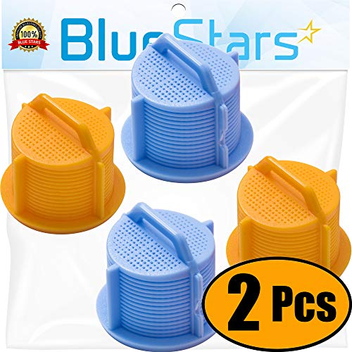 Ultra Durable AGM73269501 Washer Water Inlet Valve Filter Screen Replacement part by Blue Stars – Exact Fit for LG & Kenmore Washers – Pack of 2