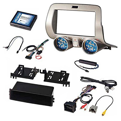 Chevrolet Camaro - PAC RPK5-GM4101 Chevrolet Camaro Integrated Radio Replacement Kit 2010-15