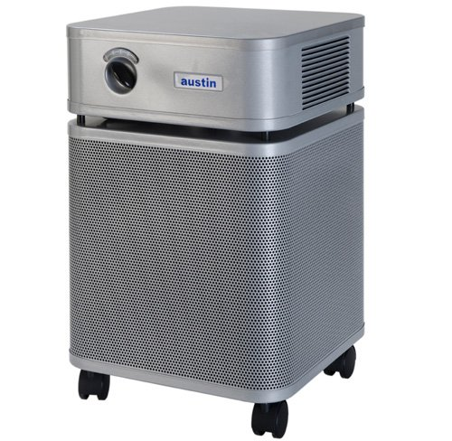 Air Purifier Silver Color - Austin Air Bedroom Machine Air Purifier (HM402) - Color: Silver