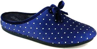 conoscere imperdonabile campione  inblu Pantofole Ciabatte Invernali da Donna Art. VG-19 Blu Nuovo (36 EU):  Amazon.it: Scarpe e borse
