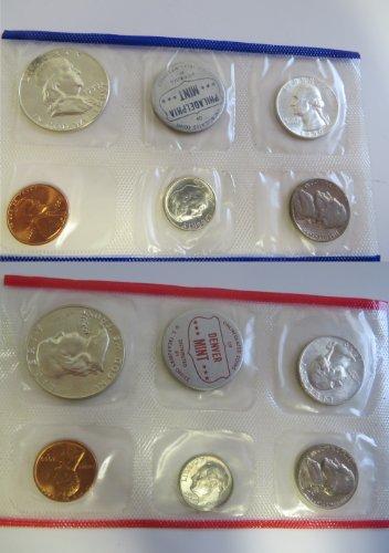 1959 Various Mint Marks Mint Set Perfect (1959 Mint Set)