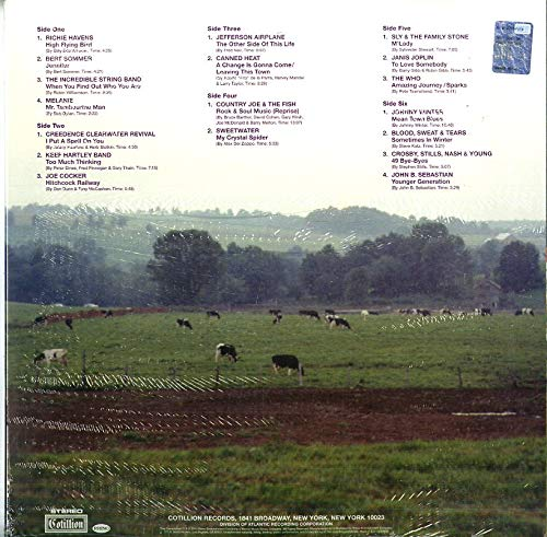 3xWinyl Woodstock III Summer Of 69 Campaign