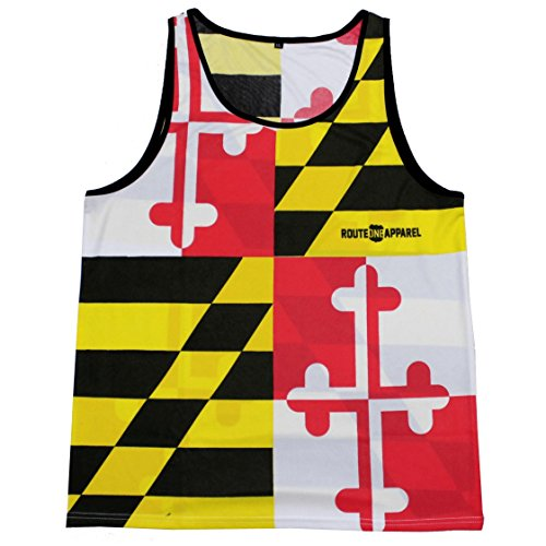 Route One Apparel Maryland Flag/Tank -
