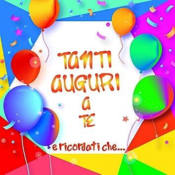 Amato Dream' s Party Biglietto d'auguri augurale per Il Compleanno TI29