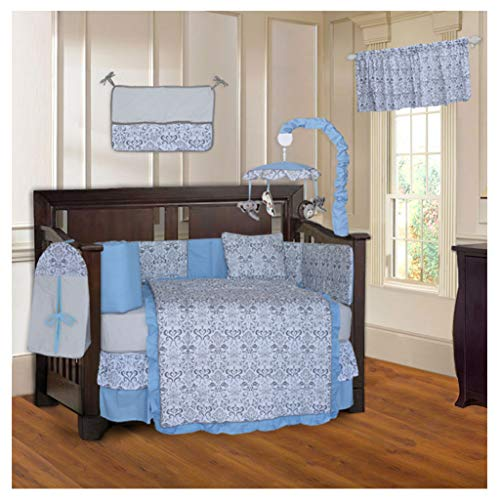 10 Piece Baby Crib Bedding Set ()