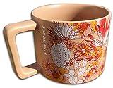 Starbucks 2019 Stacking Pink Cactus Flower Ceramic Coffee/Tea Mug, 14 Fl Oz