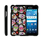 [Kyocera Hydro View Case, Hydro Reach Case, Hydro Shore Case][Snap Shell] Hard Plastic Slim Fitted Snap on case with Unique Designs by Miniturtle - Sugar Skull Design