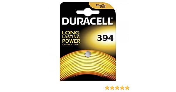 Duracell pila de botón SR936SW blister 1 ud., 1,55V, Silberoxid: Amazon.es: Electrónica
