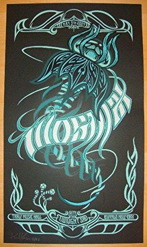 2009 Mogwai - Buffalo Silkscreen Concert Poster by Brad Klausen