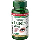 Nature's Bounty Lutein Softgel, 20 mg