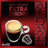 Cheap 100 Karoma Capsules Compatible Nespresso Machines (Napoletano Extra Strong)(X-Forte) (Angri, Salerno Italia)