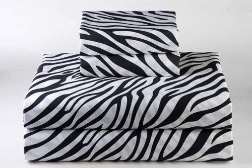 Full Zebra - 600-Thread-Count 100% Cotton Bed Sheets