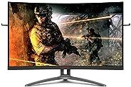 """Monitor Gamer AOC Agon 32"""" Curvo 165Hz 1ms FreeSync AG32"""