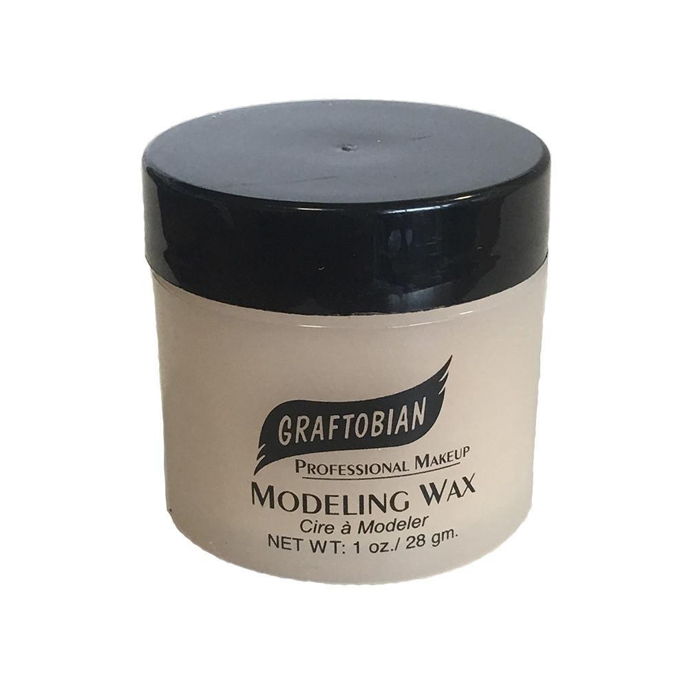 Modeling Wax - Bone Color - 1 oz. Jar Graftobian