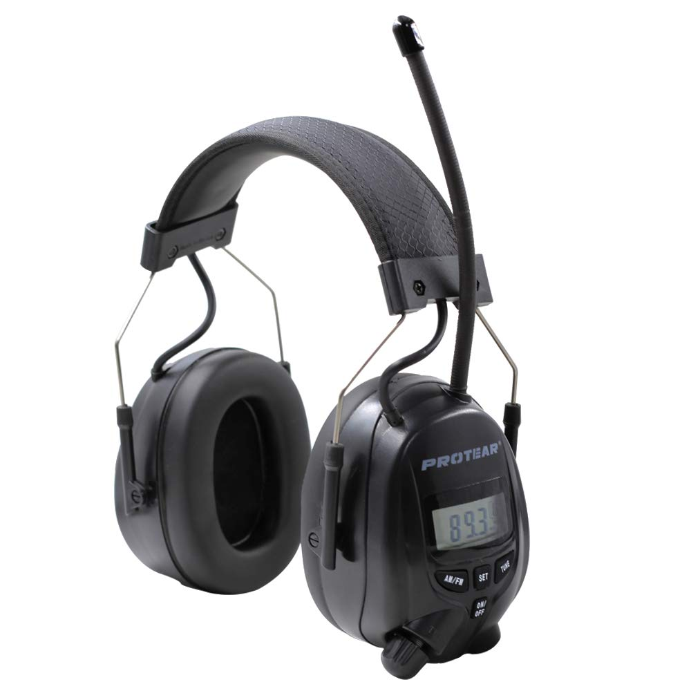 Protear FM/AM Radio Noise Reduction Headset,Protear Ear Defenders with Stereo Headphone Jack for Working/Mowing by PROTEAR (Image #3)