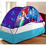 Disney Ariel Bed Tent with Push Light Twin Toy