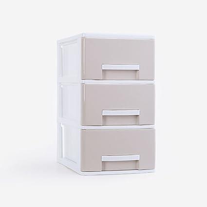 Archivadores CHENGYI Gabinetes de Archivo PP Cajón de plástico Oficina en el hogar Archivos de Escritorio