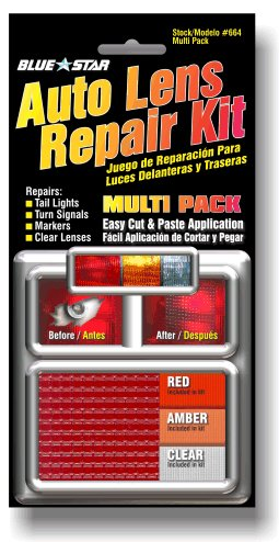 Amazon Com Blue Star Auto Tail Light Lens Repair Kit Amber