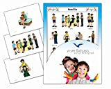 This set includes 14 high quality, cleanable and tear resistant family member flashcards in Spanish. Vocabulary included: hermano, familia, hermanos, padre e hija, padre e hijo, padre, abuelo, abuela, abuelos, madre e hija, madre e hijo, madr...