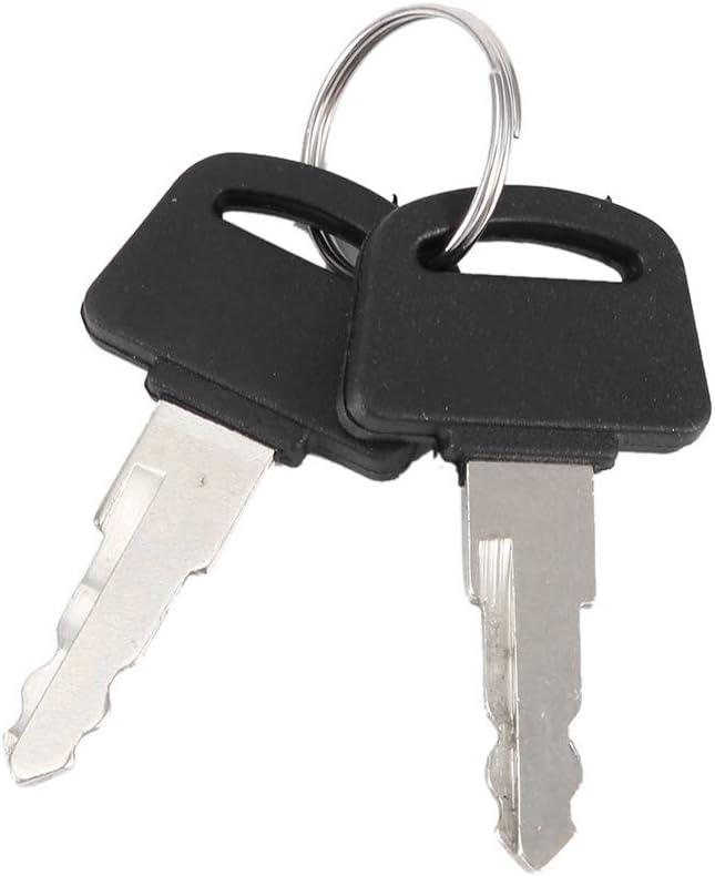 Hood Lock Car Universal Engine Hood Cover Lock Key Pin Kit Safety Latch Pin Black