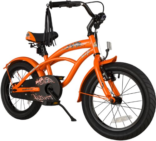 Bikestar 16 Inch  Kids Childrens Bike Bicycle - Cruiser - Or