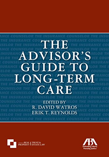 The Advisor's Guide to Long-Term Care (American Association For Long Term Care Nursing)
