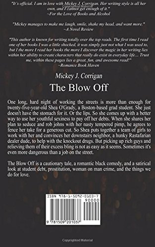 The Blow Off Mickey J Corrigan 9781509201037 Amazon Books