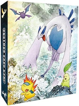 Pokemon 3 Ring Binder HeartGold /& SoulSilver Ho-oh /& Lugia