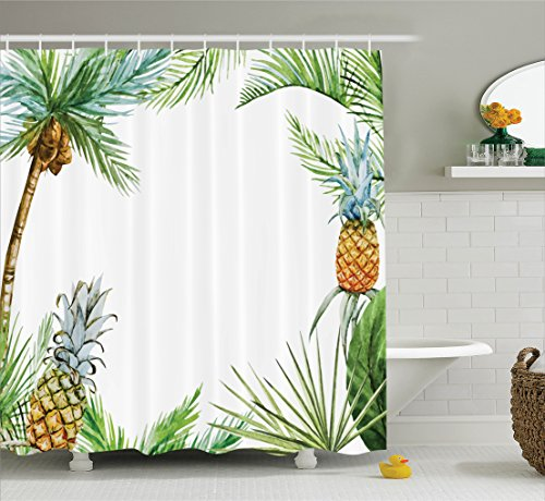 Pineapple Ambesonne Watercolor Tropical Accessories product image