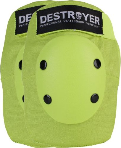 Destroyer Pro Elbow Pad - Destroyer Pro Elbow [X-Large] Lime