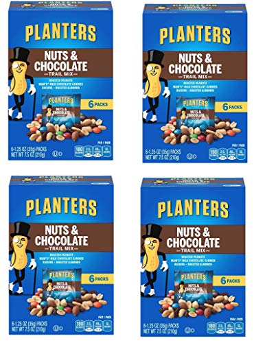 Planters Trail Mix, Nuts and Chocolate MandMs (Pack of 4) by Planters (Image #1)