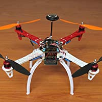powerday DIY F450 Quadcopter Kit &APM2.8 Flight controller& NEO-7M GPS+GPS Bracket& DJI 920KV Brushless motor& Simonk 30A ESC&1045 Propeller&Spare parts pack