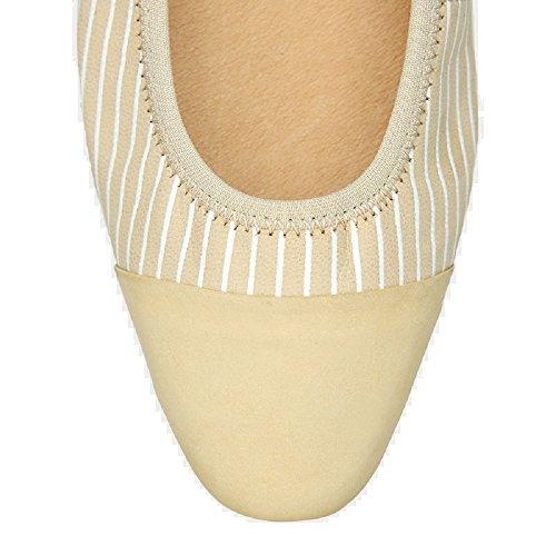 Foldable Pointed Vera Women's MORENA Flat Multicolor Toe MORENA EOxq4f1
