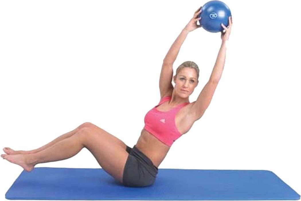 fitness-mad Studio pro-matピラティス練習トレーニング療法サポートaid-blue   B01J7OPJP0