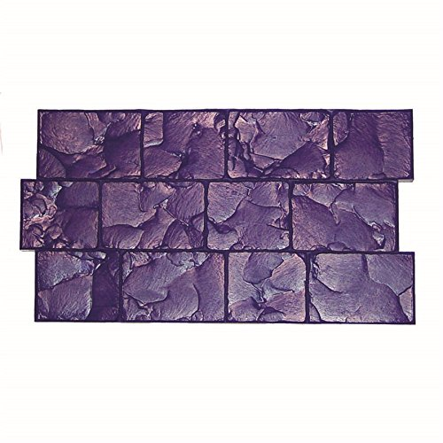 BonWay 12-878 17-Inch by 30-Inch London Cobblestone Urethane Floppy Mat