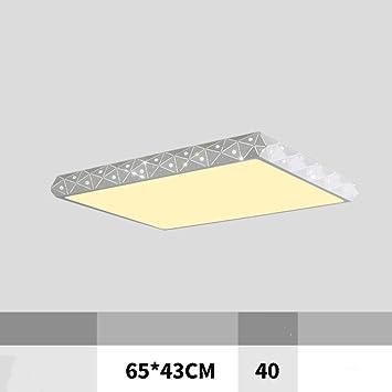 BOC Lámpara de Techo con Lámpara de Techo Rectangular ...